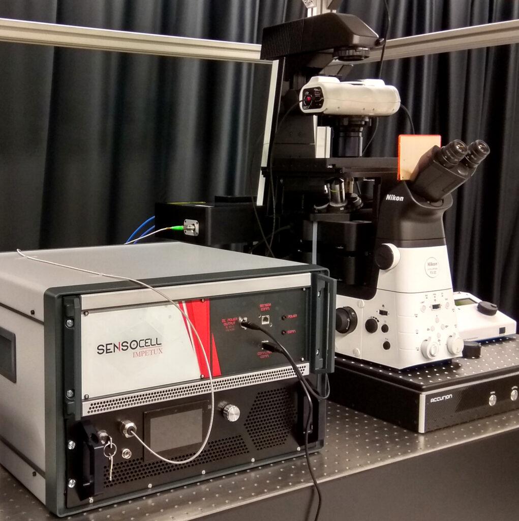 optical tweezers for mechanobiology SENSOCELL