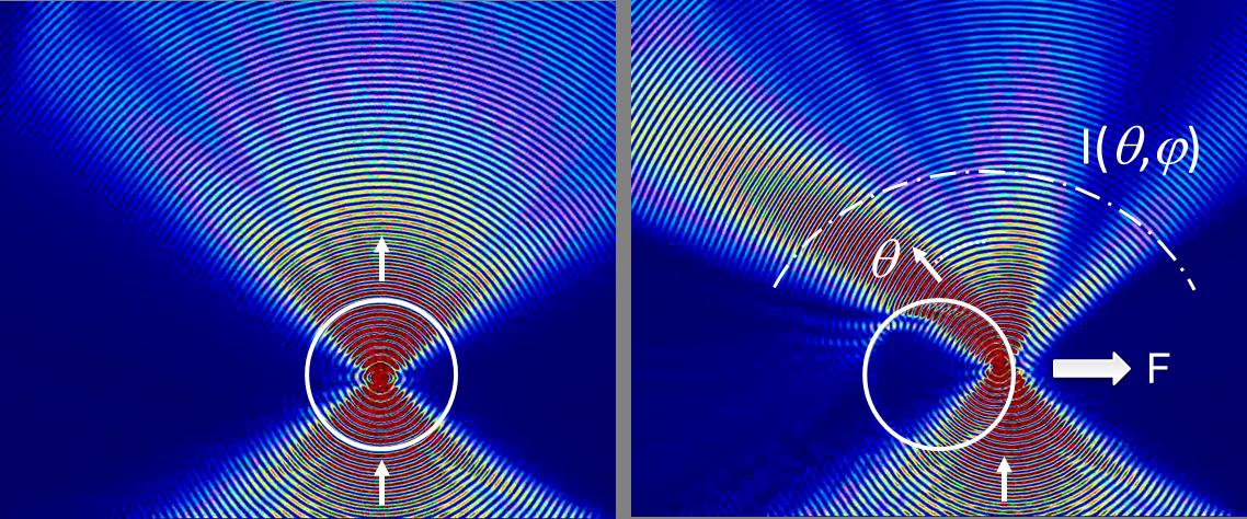 Direct force spectroscopy principle