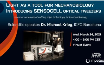 WEBINAR | Light as a tool for mechanobiology, with Dr Krieg from ICFO